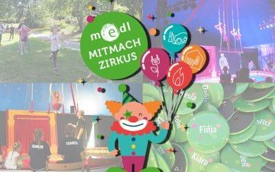 Manege frei für den medl-Mitmach-Zirkus