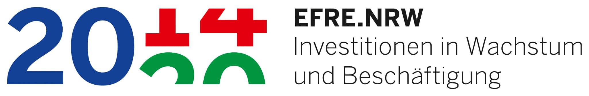 Logo Europäischer Fond für Regionale Entwicklung