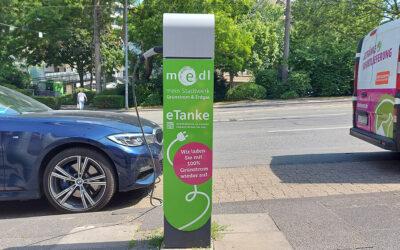 medl-eTanke – die öffentlichen Ladestationen