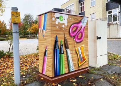 Gasübergabestation Rembergstraße Front