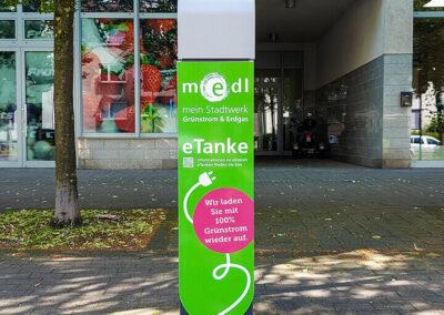 medl-eTanke öffentliche Ladestation Bülowstraße