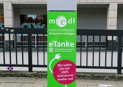 medl-eTanke öffentliche Ladestation Am Hauptbahnhof 2
