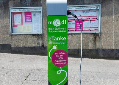 medl-eTanke öffentliche Ladestation Kaiserstraße